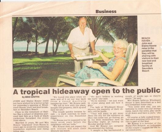 Townsville Bulletin c Feb 2000