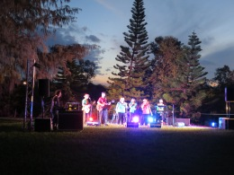 Beaches Church band and singers and the volunteers from the Saunders Beach Community Centre staged an amazing Carols by Candlelight.
