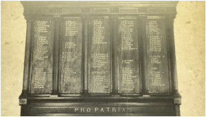 Image 6: Pro Patria Honour Board from World War 1.