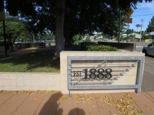 Image 6. Townsville Grammar School gates.