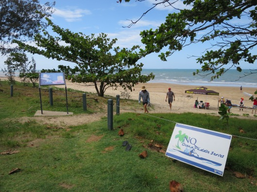 Image 17. Because of Saunders Park's distance by sea from Townsville it is sometimes the finish line for events.