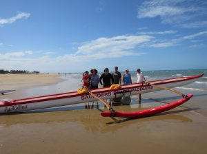 Image 18. The Saunders Beach Paddlers entered the 2015 NQ Ocean Paddling Series.